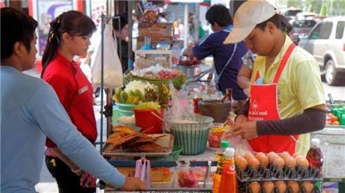 Truyền thống sắc màu bán hàng rong ở Thái Lan 6