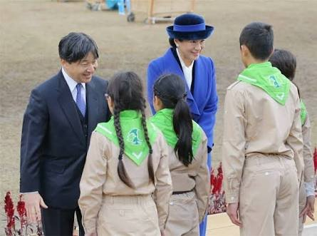 Crown Prince Naruhito and Crown Princess Masako attended the 41st National Tree Growing Festival