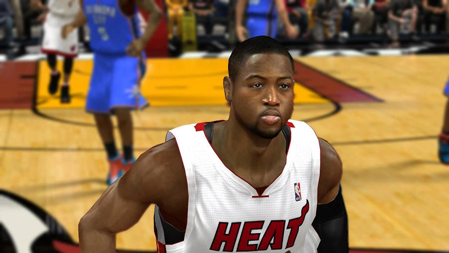 NBA2K14 Dwyane Wade Patch