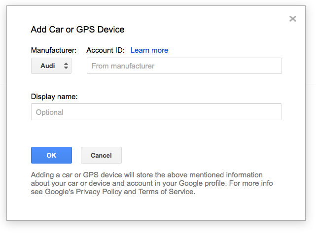 Off On A Tangent: Google Maps Send To Car for Mercedes-Benz is Gone
