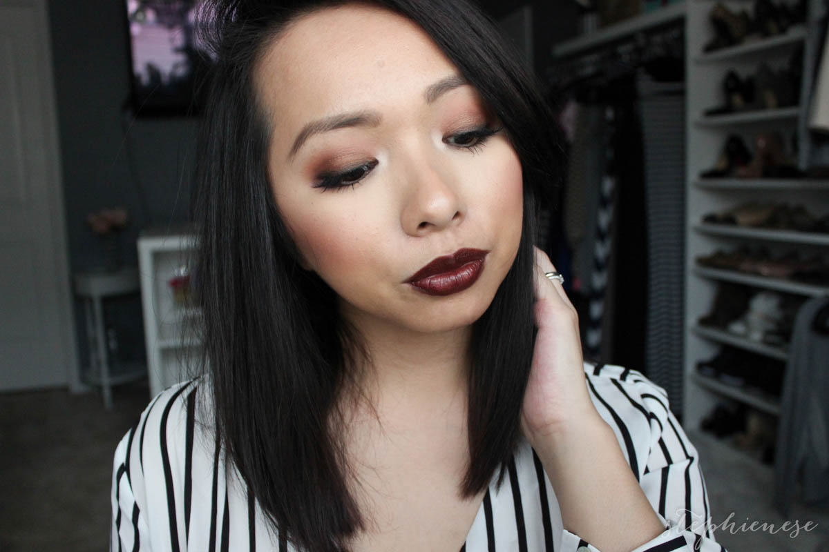 Stephienese Dallas Style Life Blog 2015 Lip Cream Amalia Matte Morocco Nude 03 I Wore This Makeup On Thanksgiving And Recorded It But Started Running Out Of Time Between Getting Ready Cooking So If You Watched My Vlog