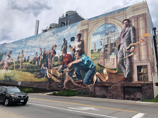 Fertile Ground is one of the largest murals in the USA!