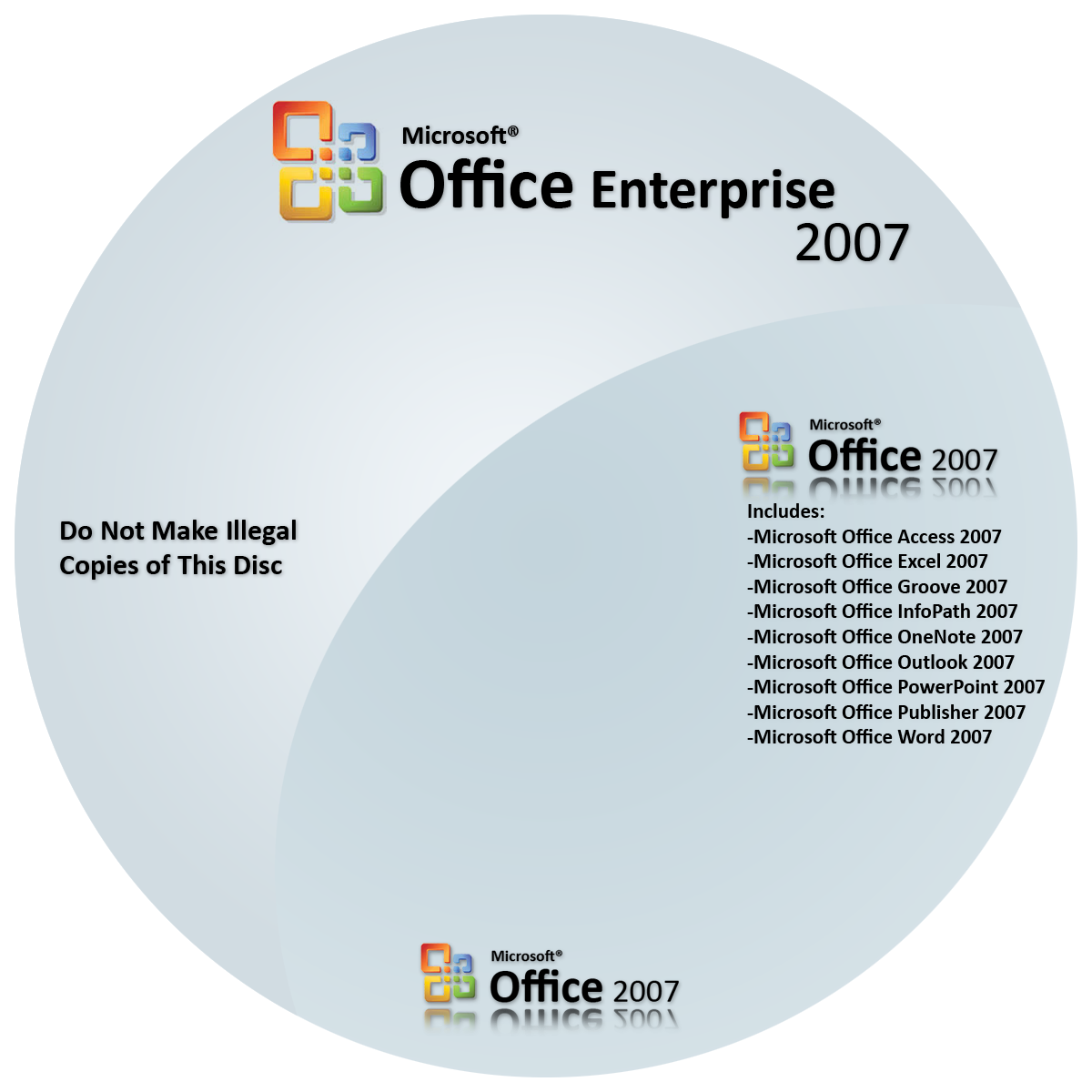 microsoft office 2007 professional cd