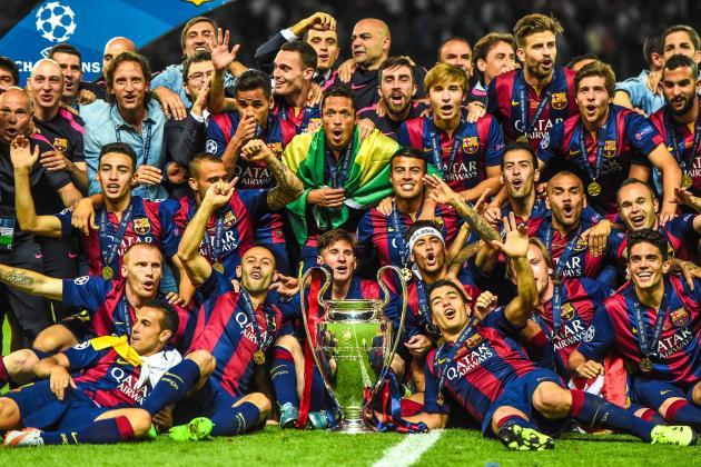 Image result for barcelona menang