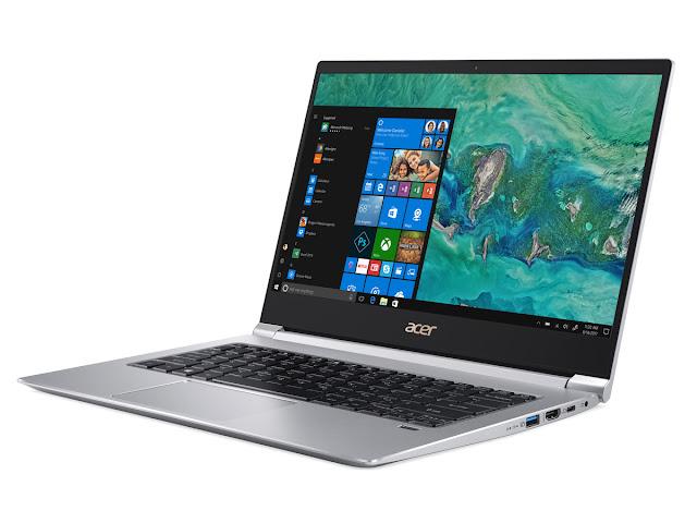 Acer Swift 3, Laptop Masa Kini dengan tampilan kekinian dan Performa Canggih