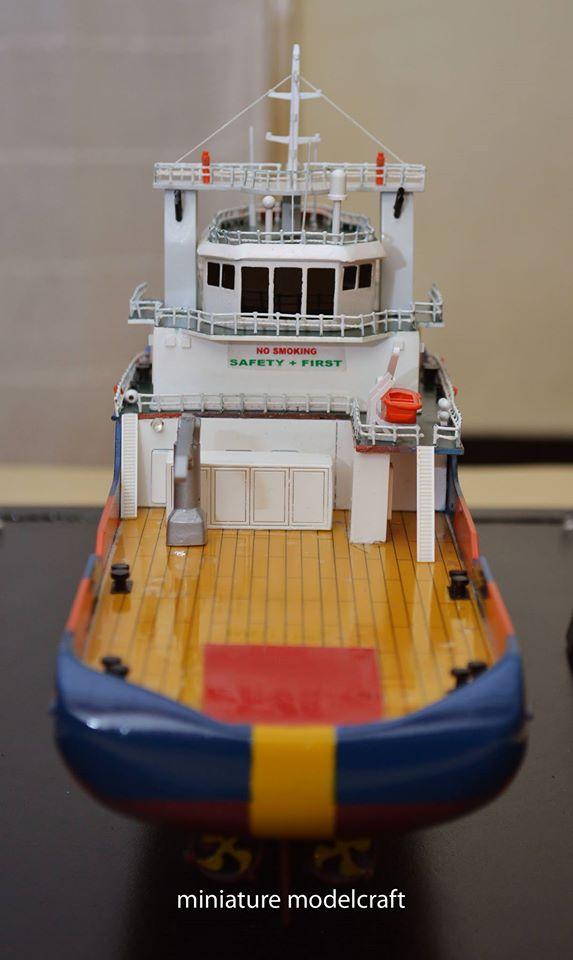 pembuat produsen miniatur kapal ahts miclyn onyx rumpun art work planet kapal