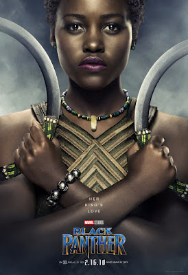 Marvel's Black Panther Theatrical One Sheet Character Movie Poster