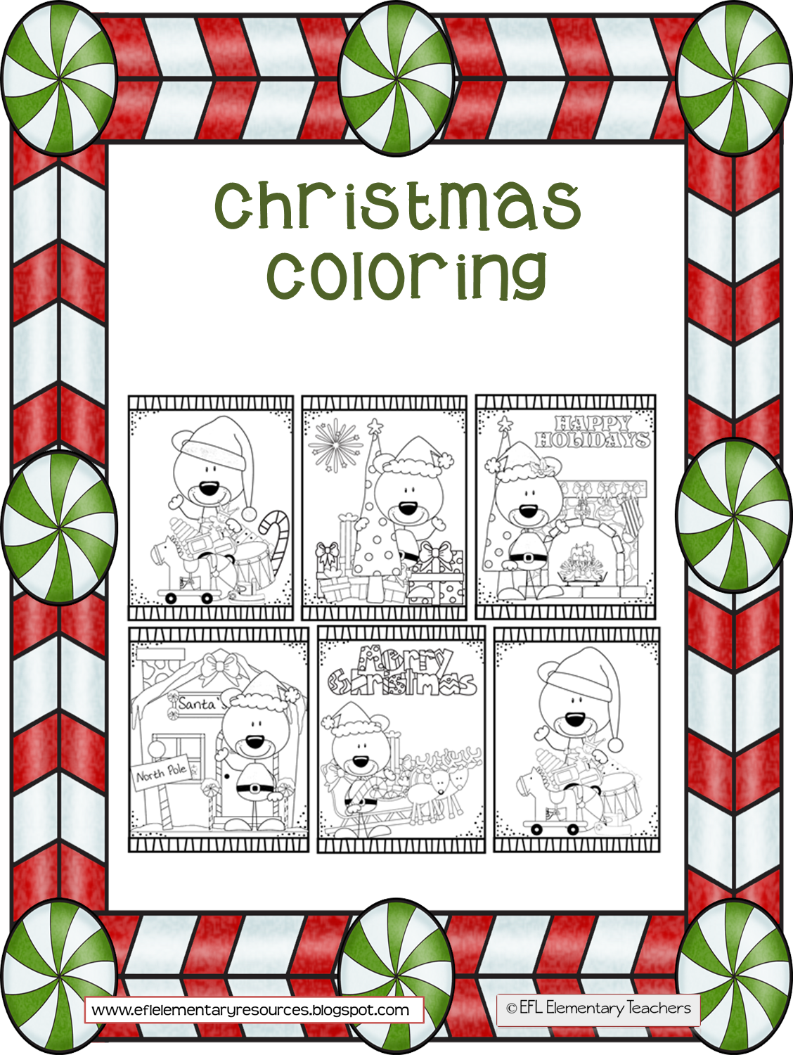 just 6 christmas coloring pages for those extra 5 minutes that we dont know what to do