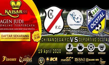 PREDIKSI BOLA TERPERCAYA CHINANDEGA FC VS DEPORTIVO OCOTAL 19 APRIL 2020