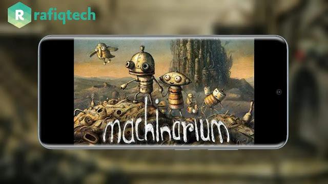 تحميل لعبة Machinarium كاملة مجانا [مدفوعة ] أحدث إصدار لنظام الأندرويد