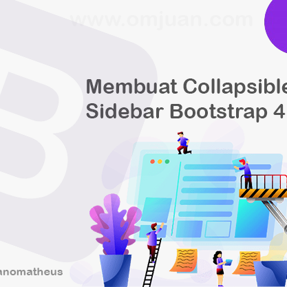 Membuat Collapsible Sidebar Bootstrap 4