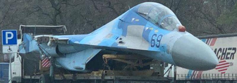 Ще один Су-27 відправився на ремонт у Запоріжжя