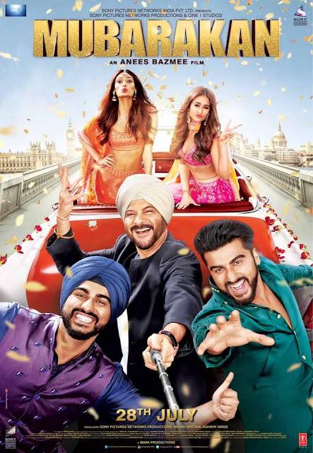 Mubarakan (2017) Hindi Movie Full HDRip 720p