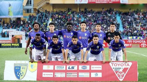 Đội hình CLB Hà Nội trong trận chung kết V League 2018