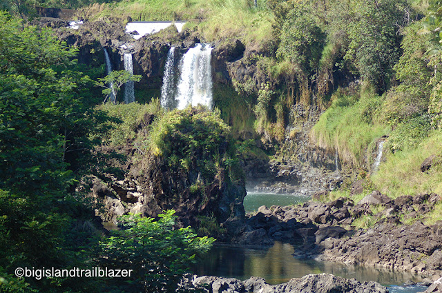 hilo waterfall pools Janine sprout trailblazer travel books