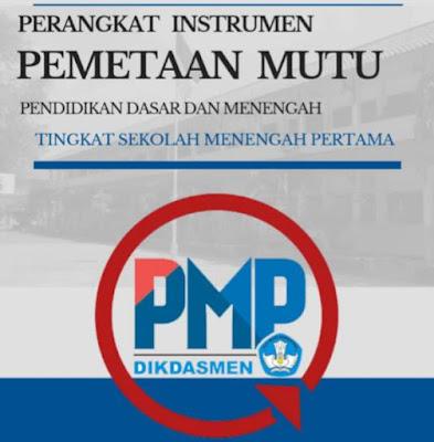 Perangkat Instrumen Formulir Kuesioner PMP SMP 2019 Terbaru