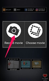 create Reverse Video on Android