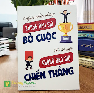 Tranh Để Bàn - Tranh Để Bàn Người Chiến Thắng Không Bao Giờ Bỏ Cuộc Kẻ Bỏ Cuộc Không Bao Giờ Chiến Thắng ebook PDF-EPUB-AWZ3-PRC-MOBI