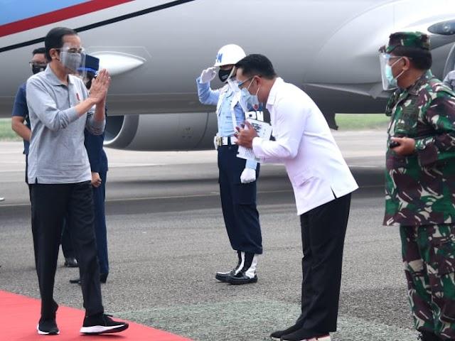 Kunjungan Kerja ke Bandung, Presiden Jokowi Tinjau Pelaksanaan Uji Klinis Vaksin Covid-19