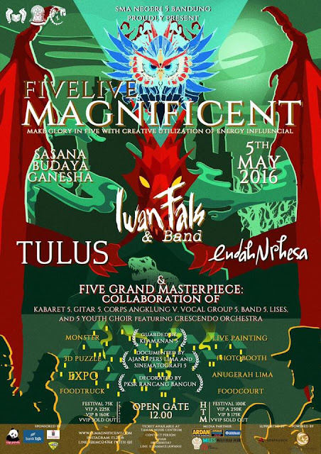 Konser Iwan Fals Five Live Magnificent  Iwan Fals Band