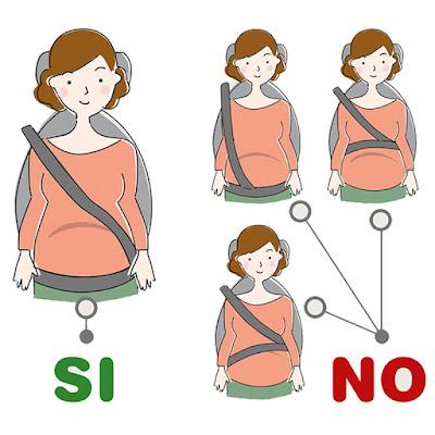 adaptador homologado cinturón embarazada blog mimuselina