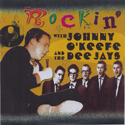 Johnny O'Keefe & The Dee Jays ‎– Rockin' With Johnny O'Keefe And The Dee Jays
