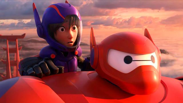 Fotograma de la película de animación de Disney Big hero 6