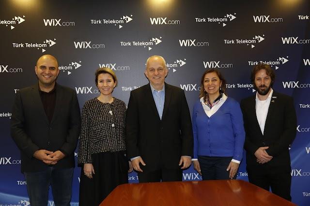 Wix- Türk Telekom Ortaklığı
