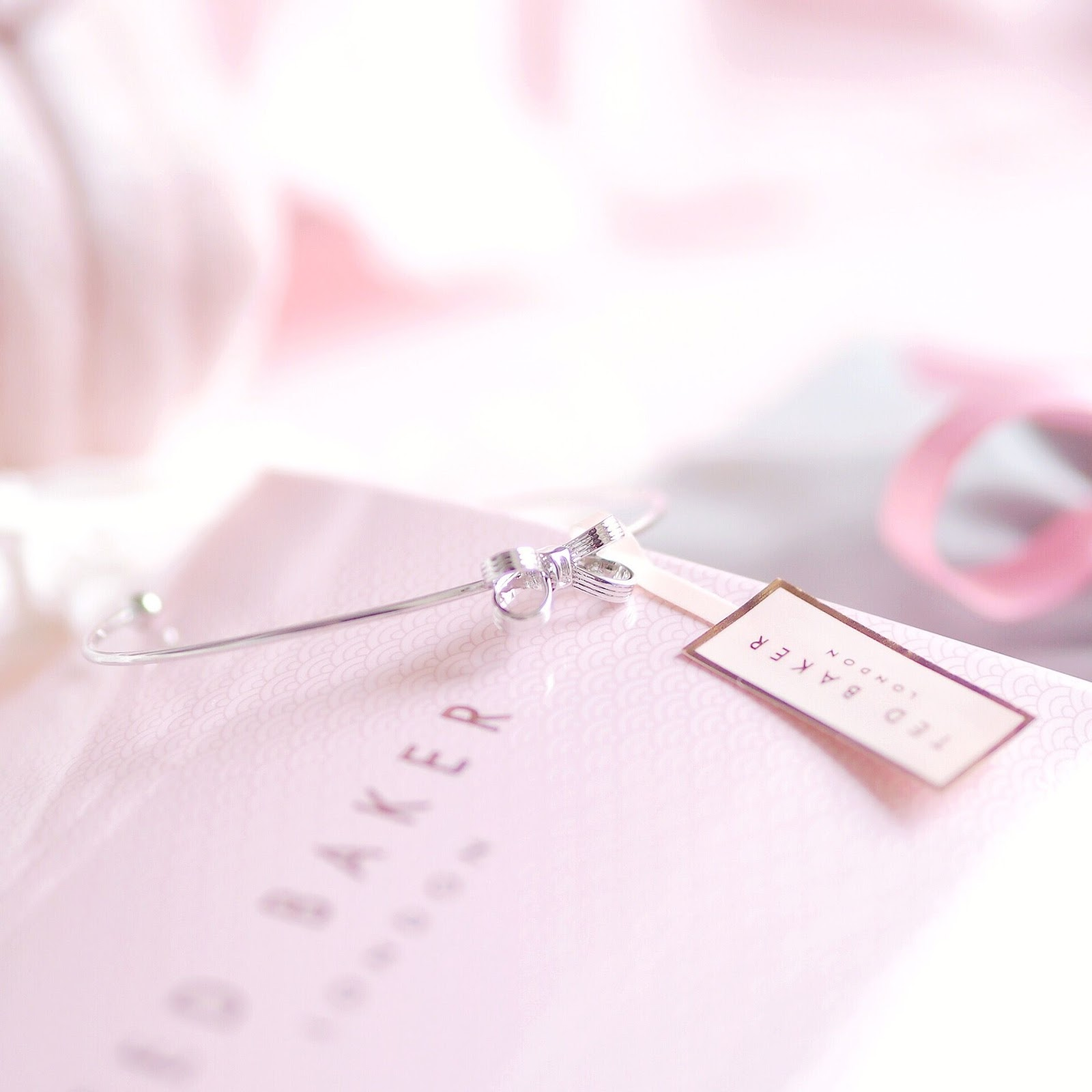 Ted Baker Mini Bow Cuff, Silver | What I Got Treated To On Christmas Day