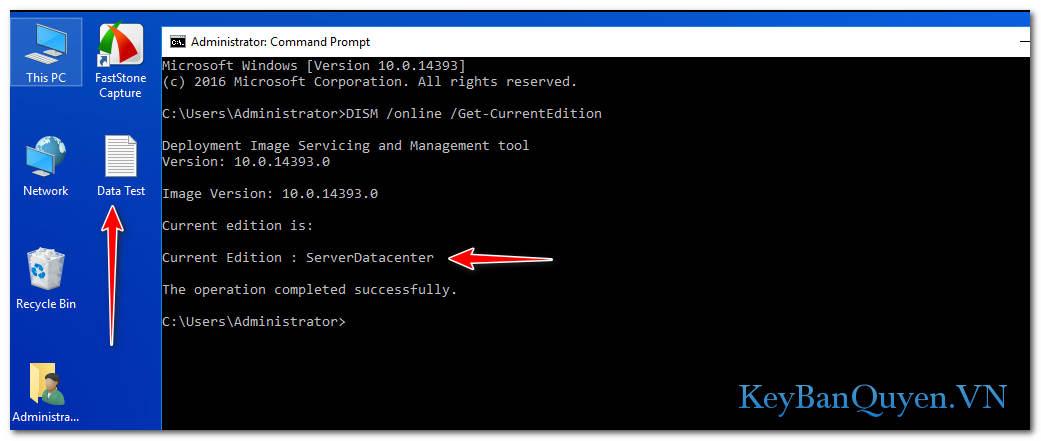 Hướng dẫn nâng cấp Windows Server 2019 Standard lên Datacenter .