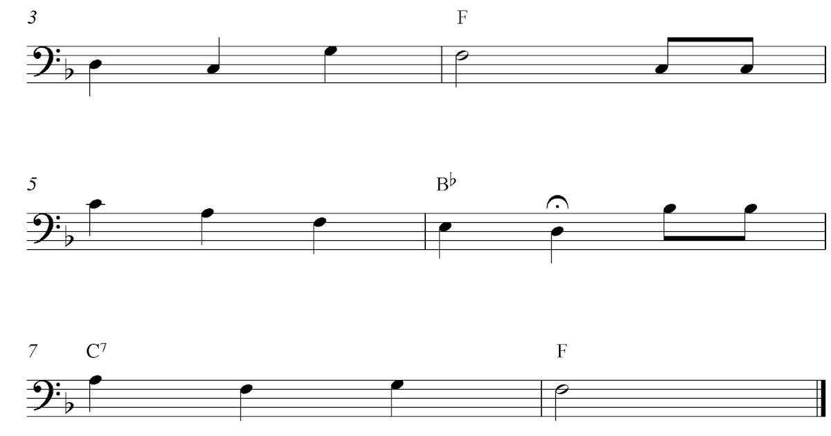 Piano happy birthday piano sheet music : Happy Birthday To You, free easy trombone sheet music notes