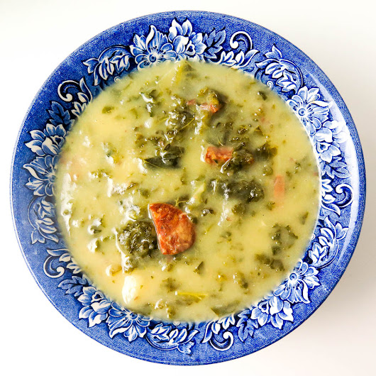 Caldo Verde With and Without a Pressure Cooker