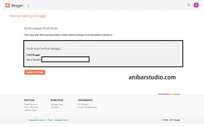 Cara mudah dan lengkap membuat Blog dengan Blogspot - TERBARU | anibarstudio.com