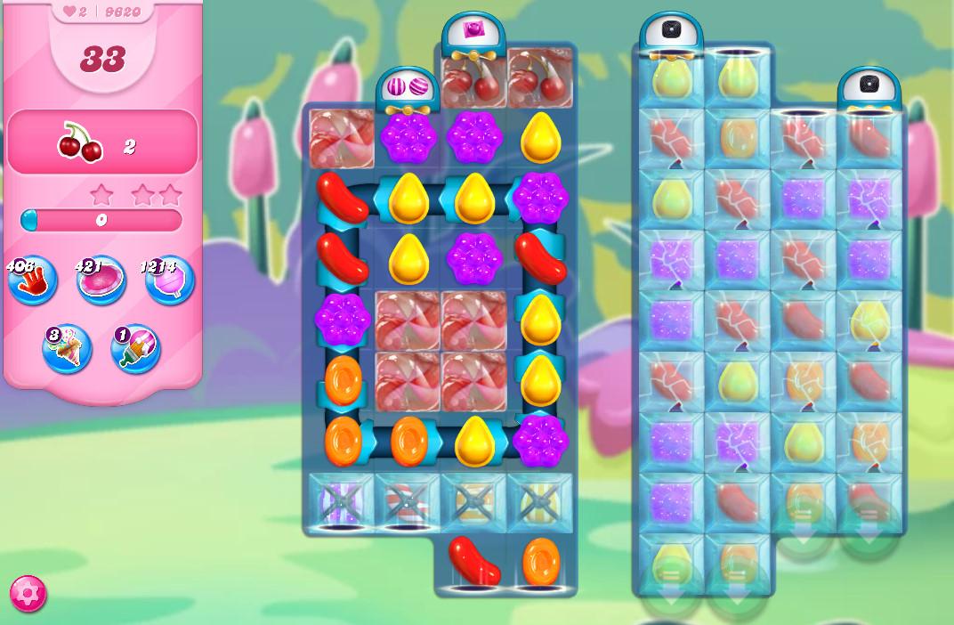 Candy Crush Saga level 9620