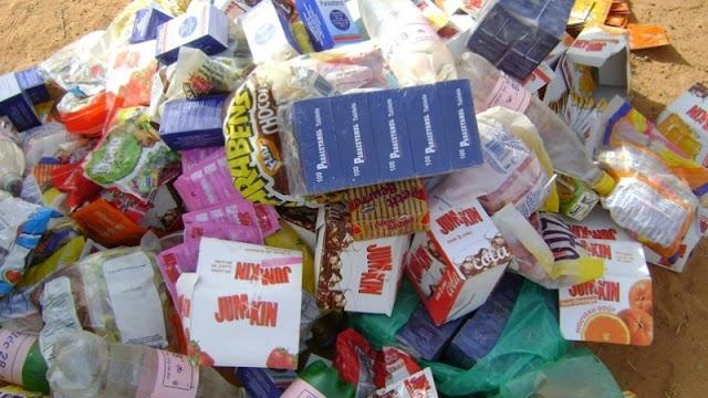 المهدية : حجز مواد غذائية غير صالحة للاستهلاك