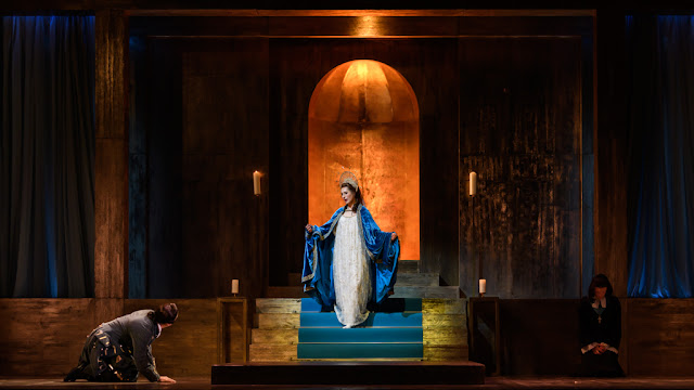 Handel: Giulio Cesare - Clint van der Linde, Susanna Hurrell, Alexander Simpson - English Touring Opera 2020 (Photo Jane Hobson)