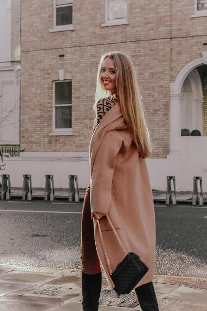 mango camel midi cardigan coat