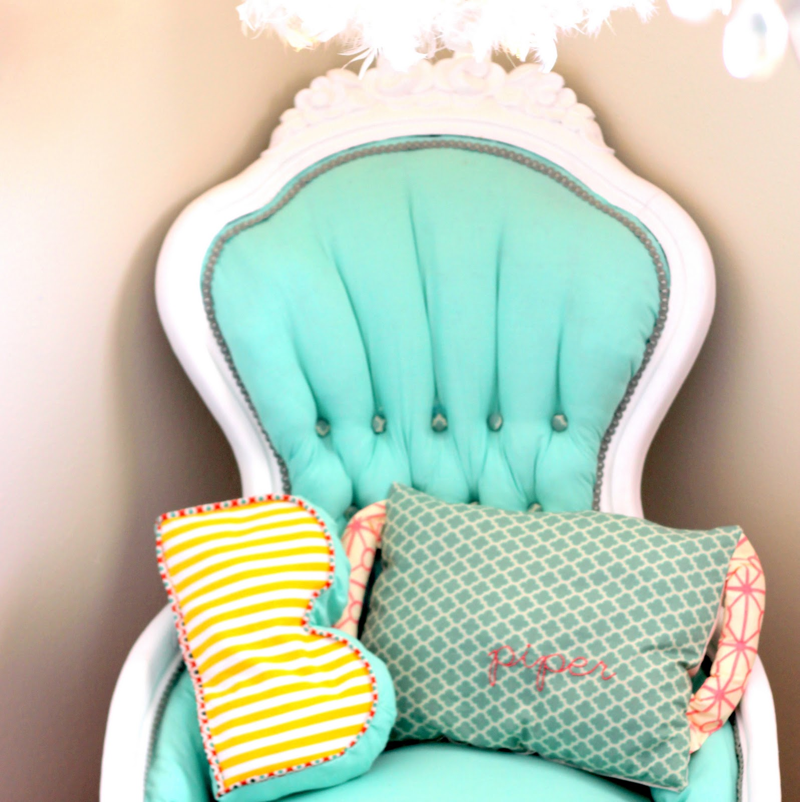 Land Of Nod High Chair Doll Ashley Furniture Rocking A Vintage Girly Redo For Piper Jane