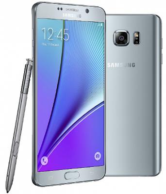 Samsung Galaxy Note 5 Silver chính hãng