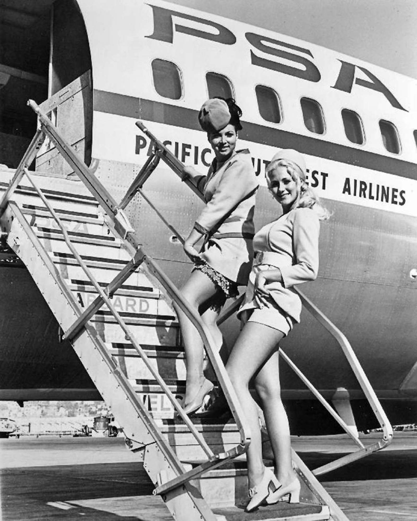 sexy stewardesses pictures history