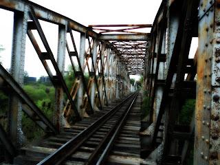 Ponte do Ibirapuitã, em Alegrete