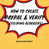 How To Create Paypal and Verify (Filipino Bloggers)