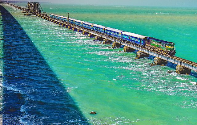 Pamban Railway Bridge Rameshwaram