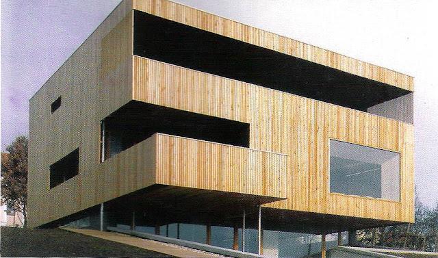 Arquitectura de casas casa tropical moderna y sustentable - Casas de madera por dentro ...