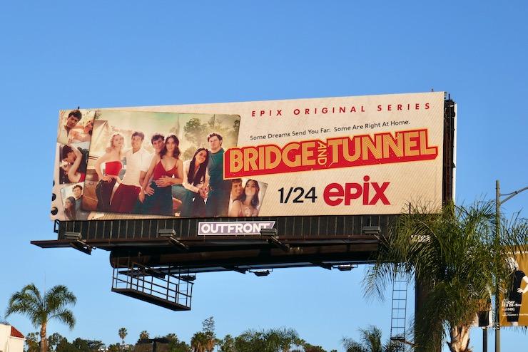 Bridge and Tunnel Epix series billboard