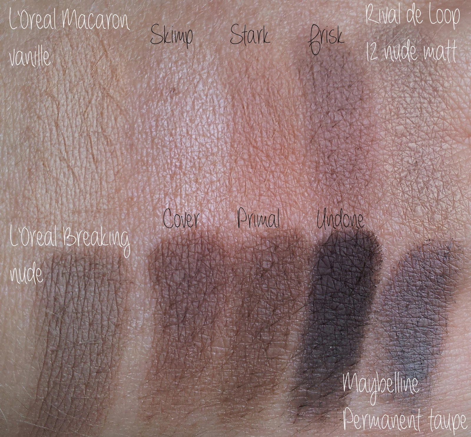 Urban Decay Naked Basics 2 Swatches Vergleich