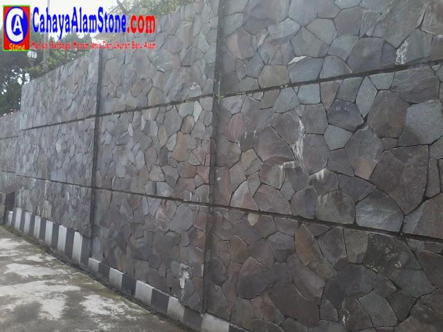 Memilih Batu Alam Yang Tepat Untuk Dinding