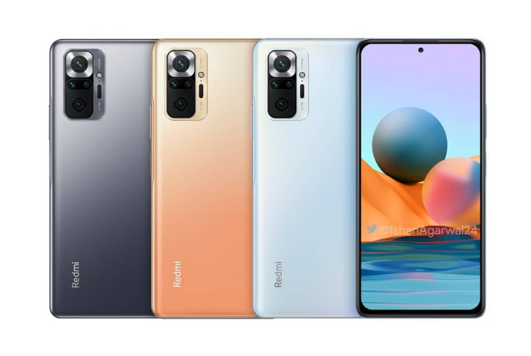 Redmi Note 10 Pro Max Official renders and specs