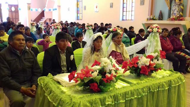 Hochzeit in San Antonio de Esmoruco am Fest des Patrons San Antonio.