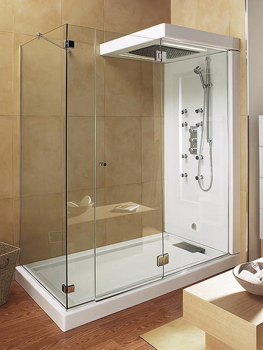 Stylish Shower Stalls Design To Give Bathroom Leek And